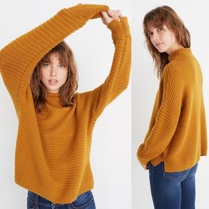 New Madewell Belmont Mockneck Sweater